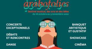 Festival AraboFolies du 17 octobre au 3 novembre 2020