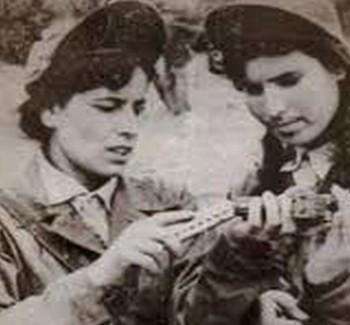 La Femme Algérienne ou le fer de lance