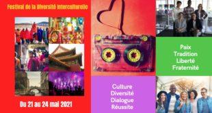 Festival de la Diversité Interculturelle du 21 au 24 mai 2021