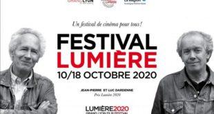 Grand Lyon Film festival – 12e édition du Festival Lumière – Du samedi 10 au dimanche 18 octobre 2020 – Lyon (69) France.