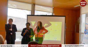 MeriemNews présente Mireille Mouéllé au Village International du Salon Coworking