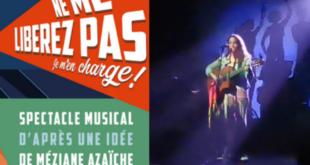 """""""Ne me libérez pas, je m'en charge"""" Spectacle au Cabaret Sauvage avec la présence de Djura et Kamel Hamadi"""