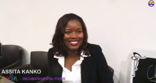 Assita Kanko, Fondatrice de  Polin Incubateur Politique