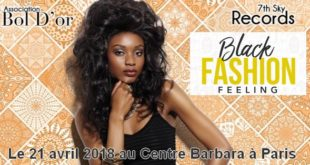 Black Fashion Feeling le 21 avril 2018 à Paris au centre Barbara