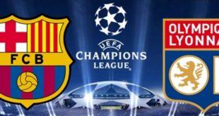 Ligue des Champions 8ème de finale Retour FC Barcelone VS OL – Débrief By Seddik Bouslah