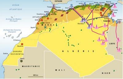 Le Maghreb et sa Géopolitique.