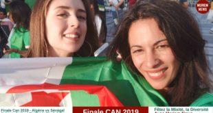 Finale de la CAN 2019 – L'Algérie remporte la Finale de 1 à 0 face au Sénégal – le 19 juillet 2019