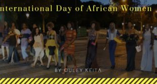 International Day of African Women le 31 juillet 2018 avec Ouley Keita