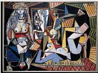 Picasso-Delacroix-Femme d'Alger