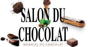 Salon Chocolat au 31 octobre jusqu'au 4 novembre 2018