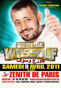 George WASSOUF le 9 avril 2011 au Zénith de Paris