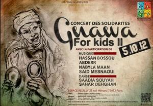 Gnawa For Kids II le 5 octobre 2012 à l'espace Reuilly – Paris 12