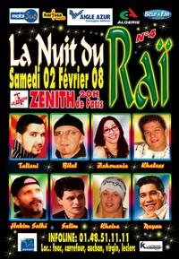 Concert La Nuit du Raï 2008